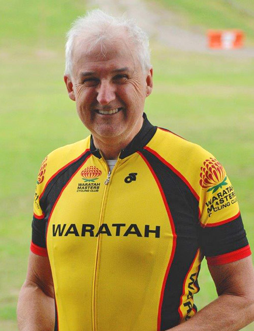 terry freshwater track manager waratah masters
