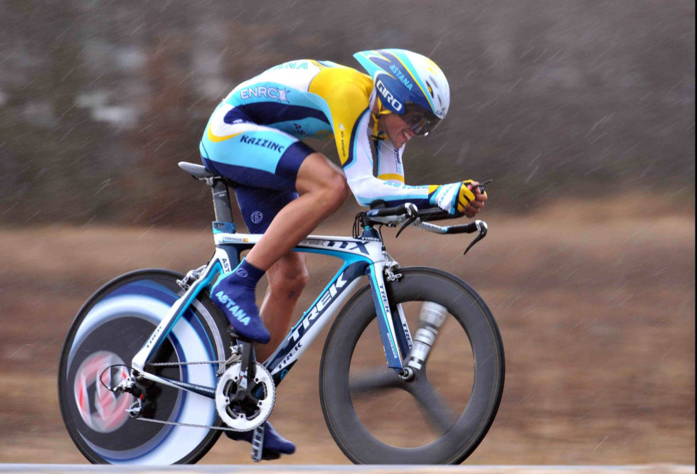 ALBERTO CONTADOR ON STAGE ONE OF THE 2009 PARIS-NICE