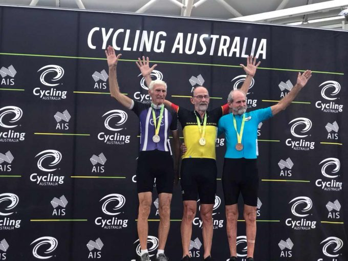 AUSTRALIAN MASTERS TRACK CHAMPIONSHIPS –	HARRY ROURKE