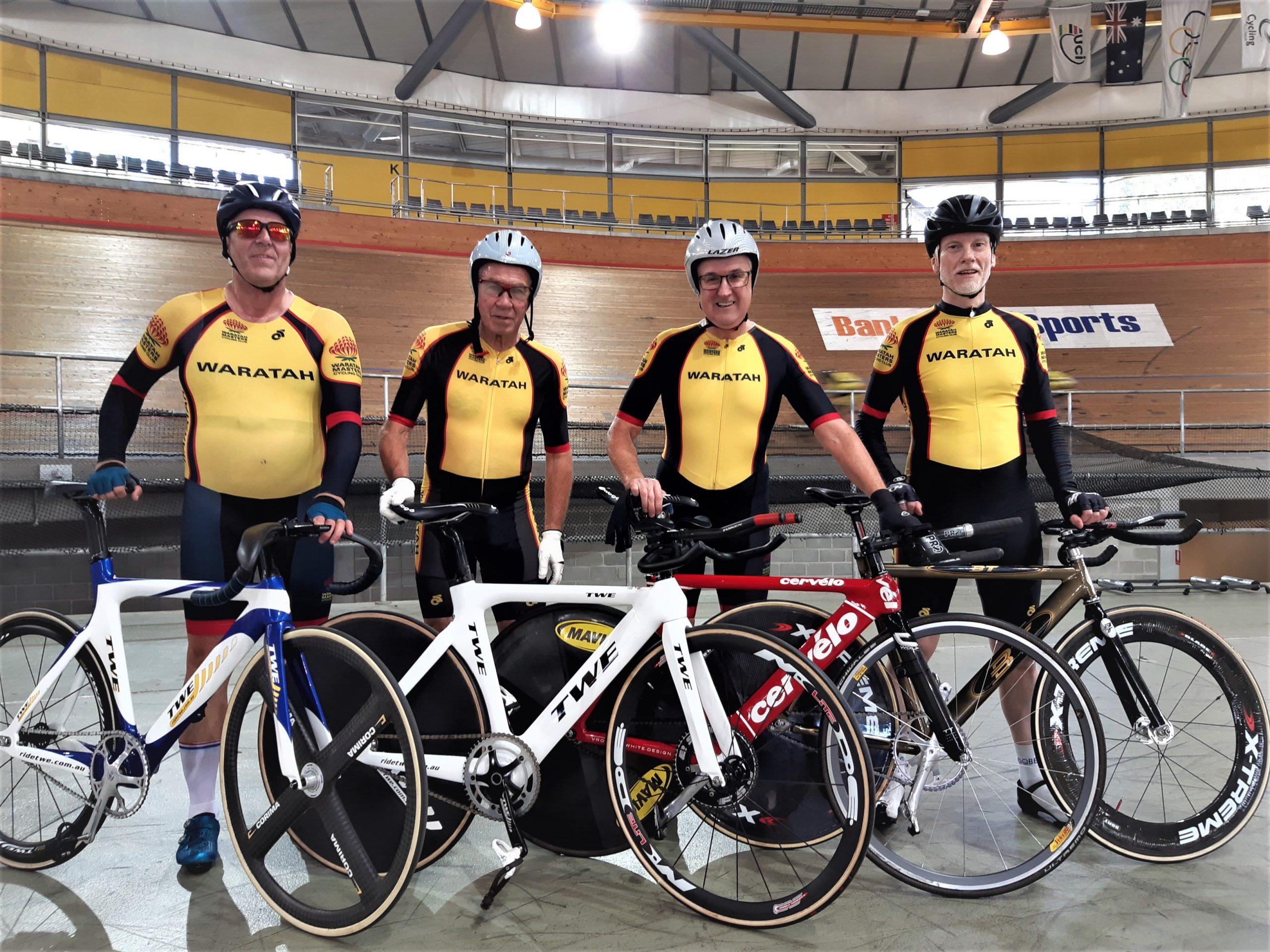 Waratahs Team Persuit Team 2021