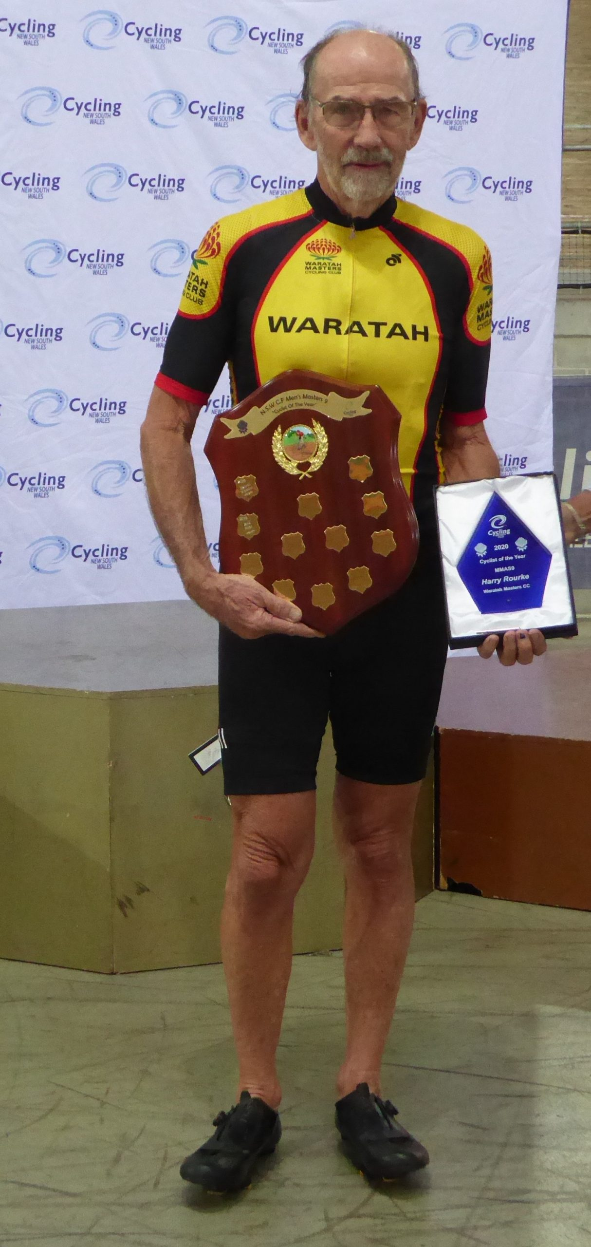 Harry Rourke MMAS9 Cyclist Of The Year